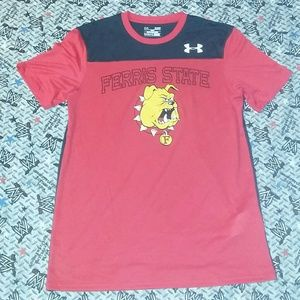 Fresno State Bulldogs Under Armour Jersey T Shirt